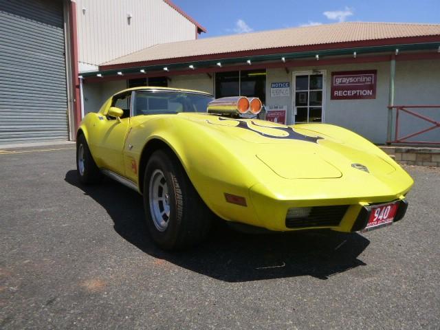 1977 Corvette Stingray Targa Top RWD Automatic Coupe
