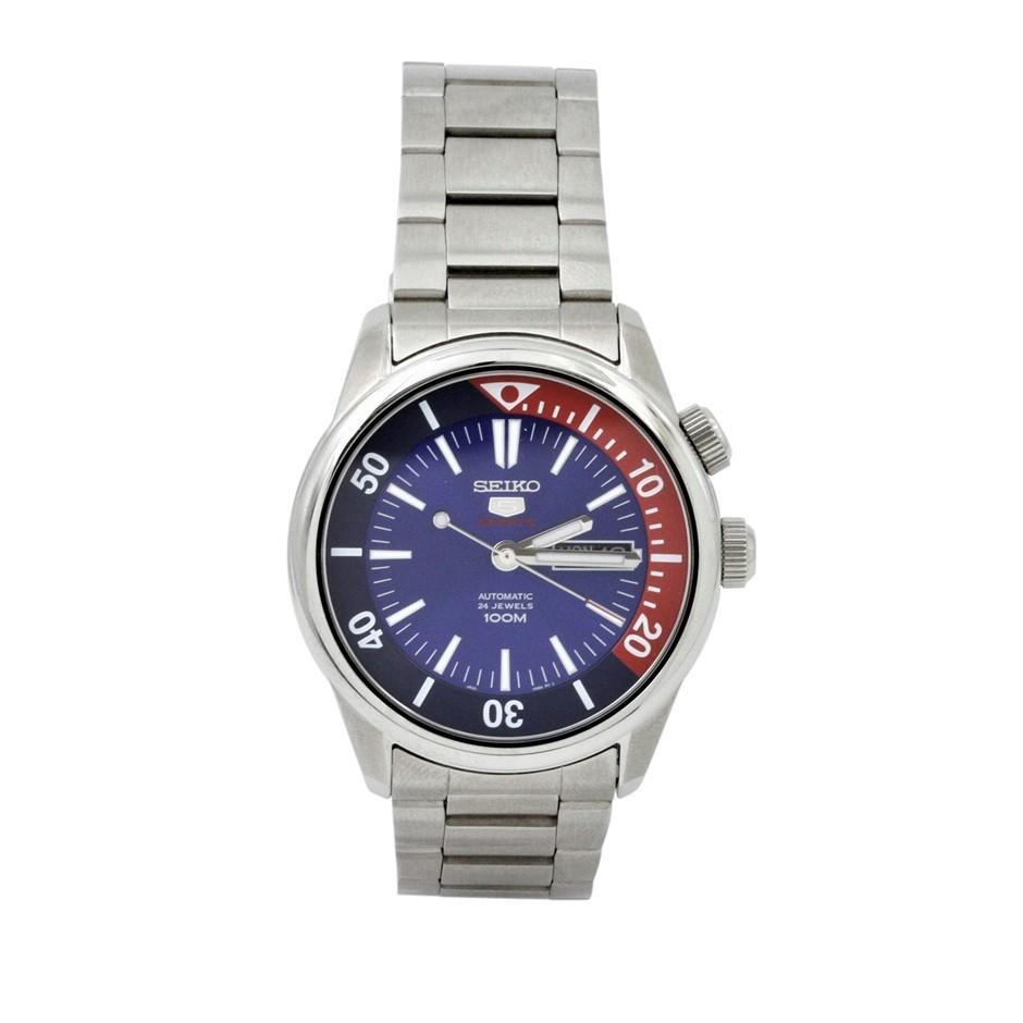 Seiko 5 Sports Automatic 24 Jewels Gents Watch