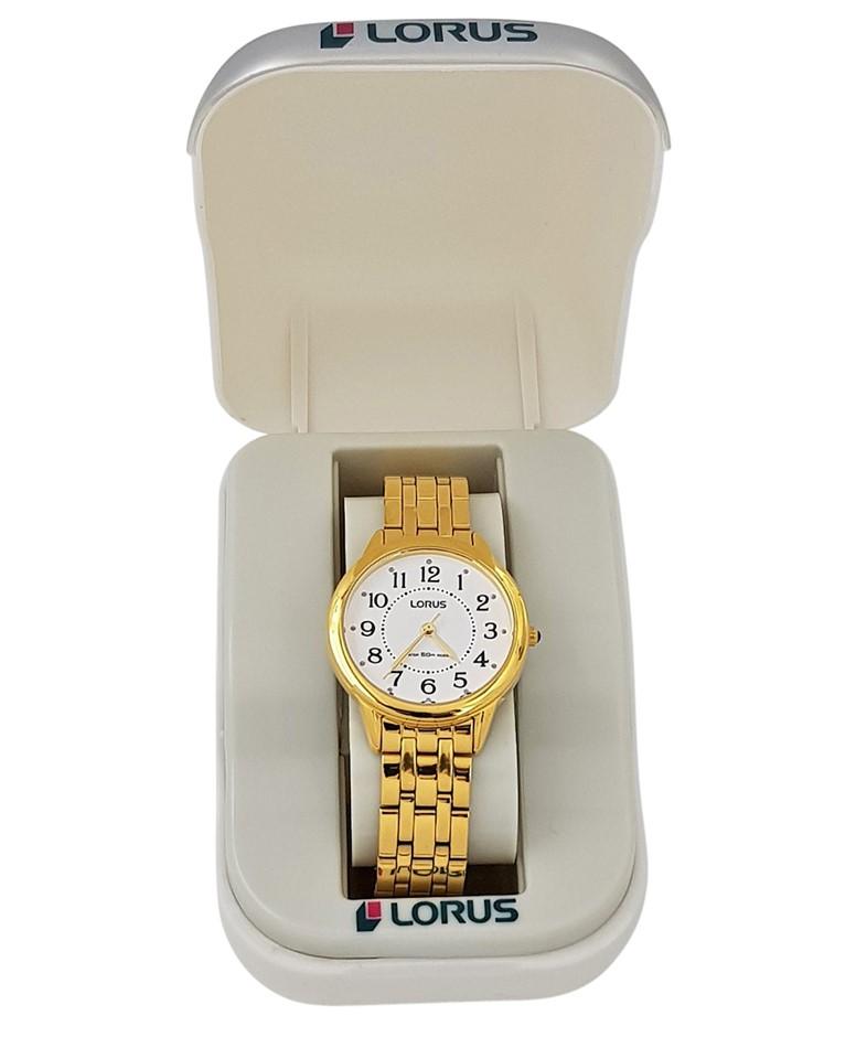 Lorus Gold Tone Ladies Dress Watch