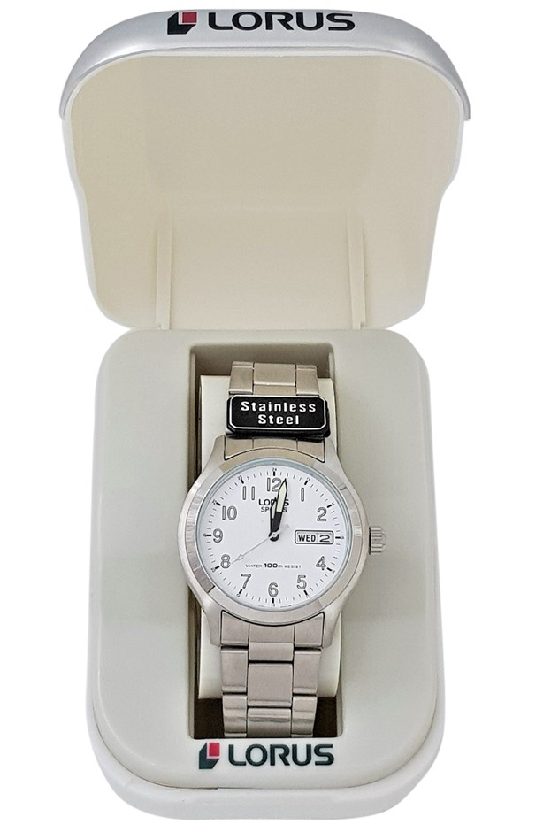 Lorus Stainless Steel Gents Watch