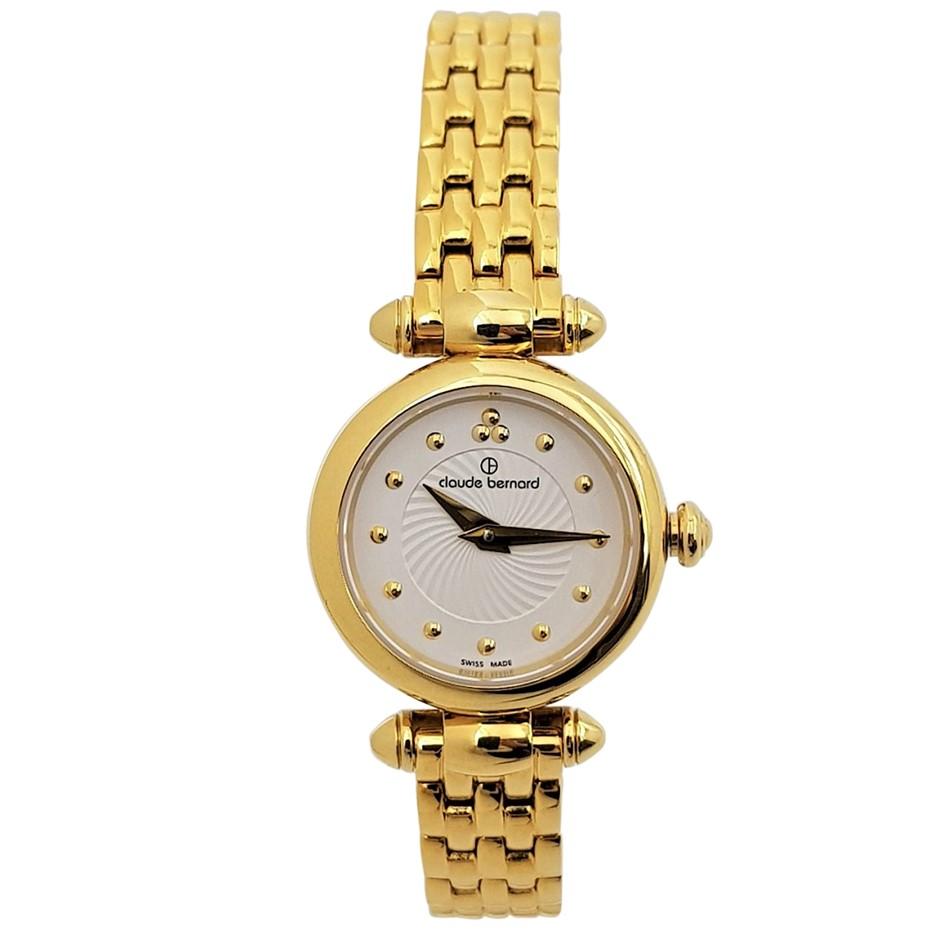 Claude Bernard Gold Plated Ladies Dress Watch
