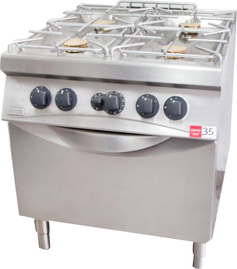 Zanussi Gas 4 Burner Stove with Oven