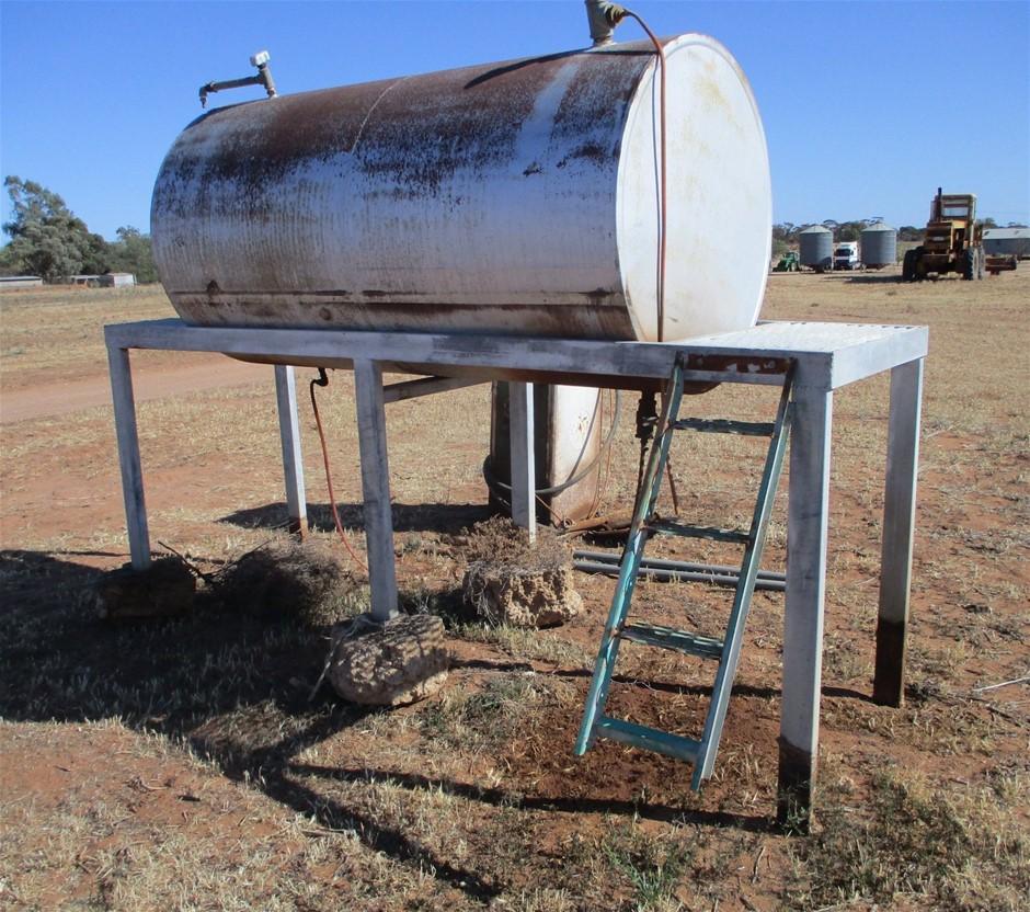 Steel Fuel Tank on Galvanised Frame