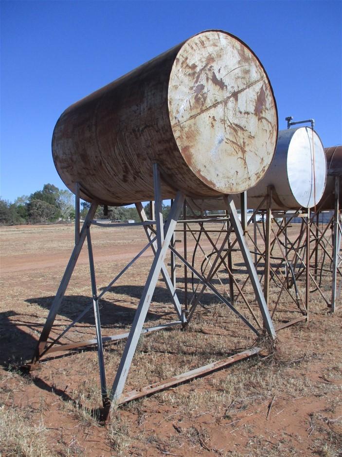 Steel Fuel Tank on Steel Frame