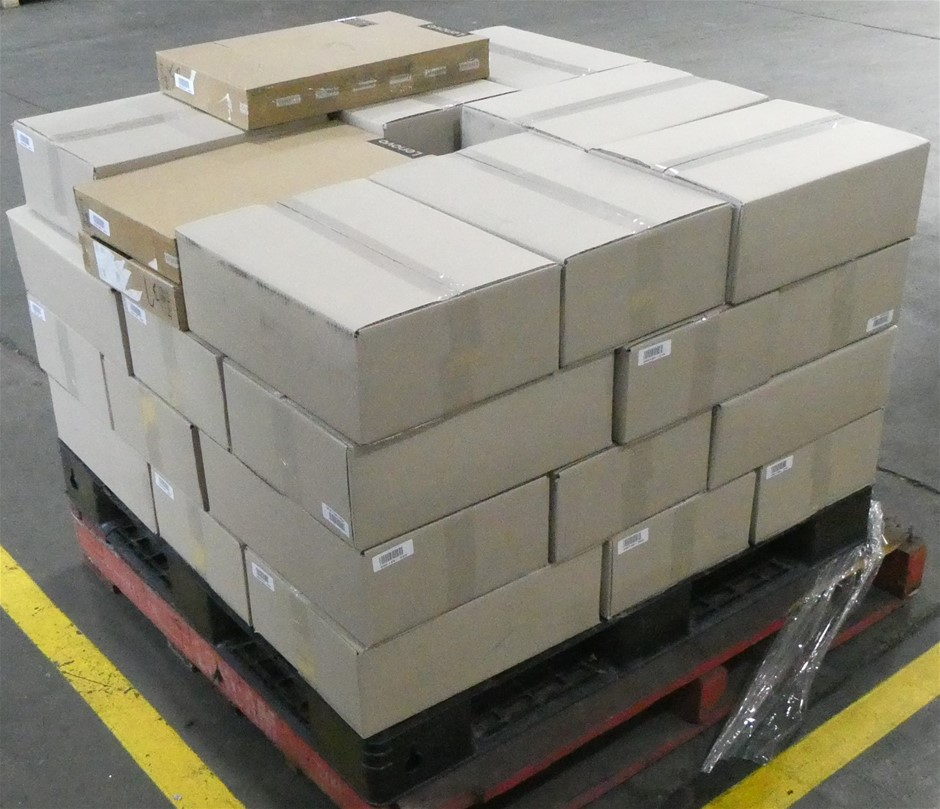 Pallet of Assorted USED/UNTESTED Lenovo Yoga 520-14IKB 14-inch Notebooks