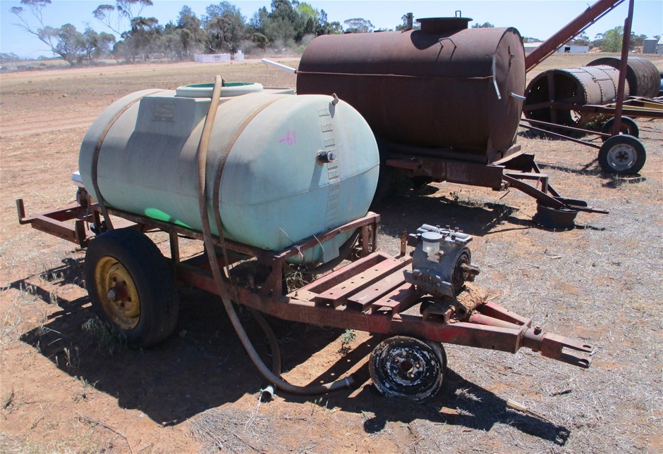 Mobile Water Pumping System