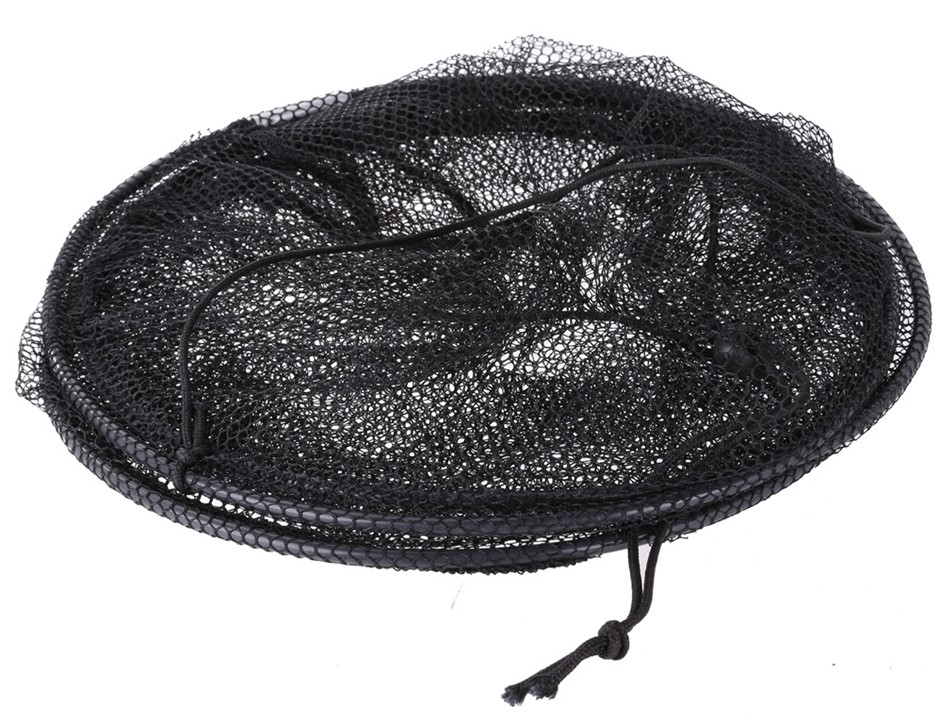 2 x Collapsible Fish Net Cages, 60cm x 30cm with Draw String. Buyers Note -