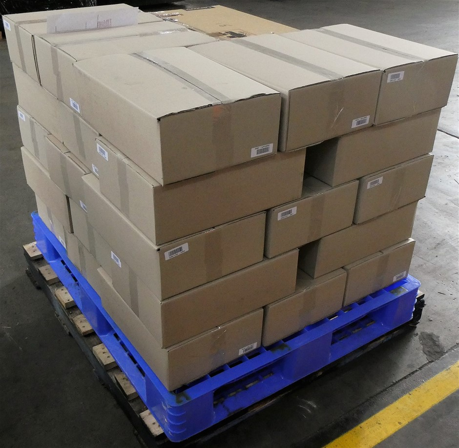 Pallet of Assorted USED/UNTESTED Lenovo Notebooks