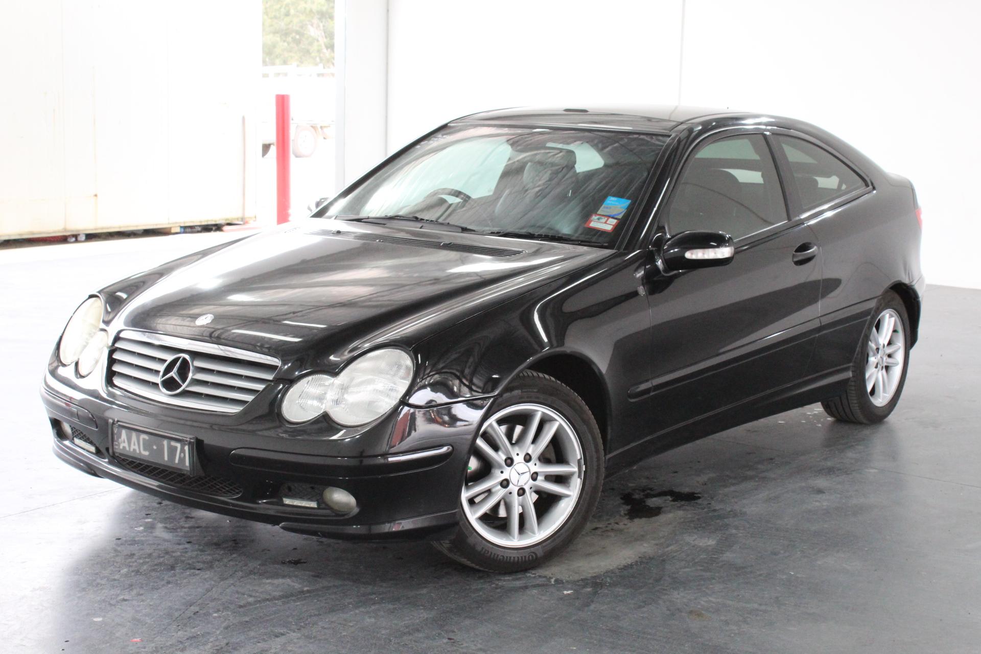 2002 Mercedes Benz C200 Kompressor CL203 Manual Coupe