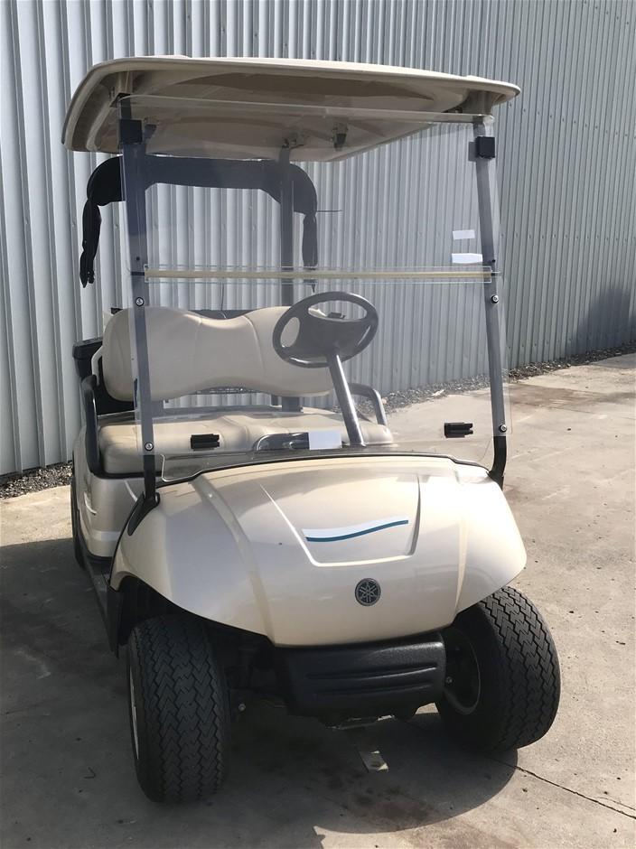 2014 Yamaha G29 Drive 48V Electric Golf Cart (JW9506224) TROJAN Bat