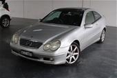 Unreserved 2001 Mercedes Benz C200 Kompressor Auto Coupe