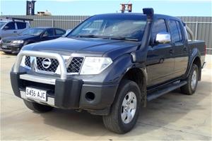 2008 Nissan Navara ST-X (4x4) D40 Turbo