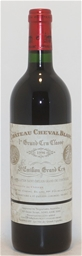 Chateau Cheval Grand Cru Blanc 1996 (1x 750ml),Saint Emilion . Cork