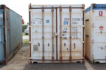20x 20 Foot Shipping Containers