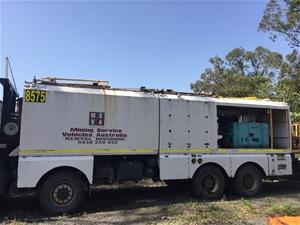 Complete Service Truck Body Module (6 x