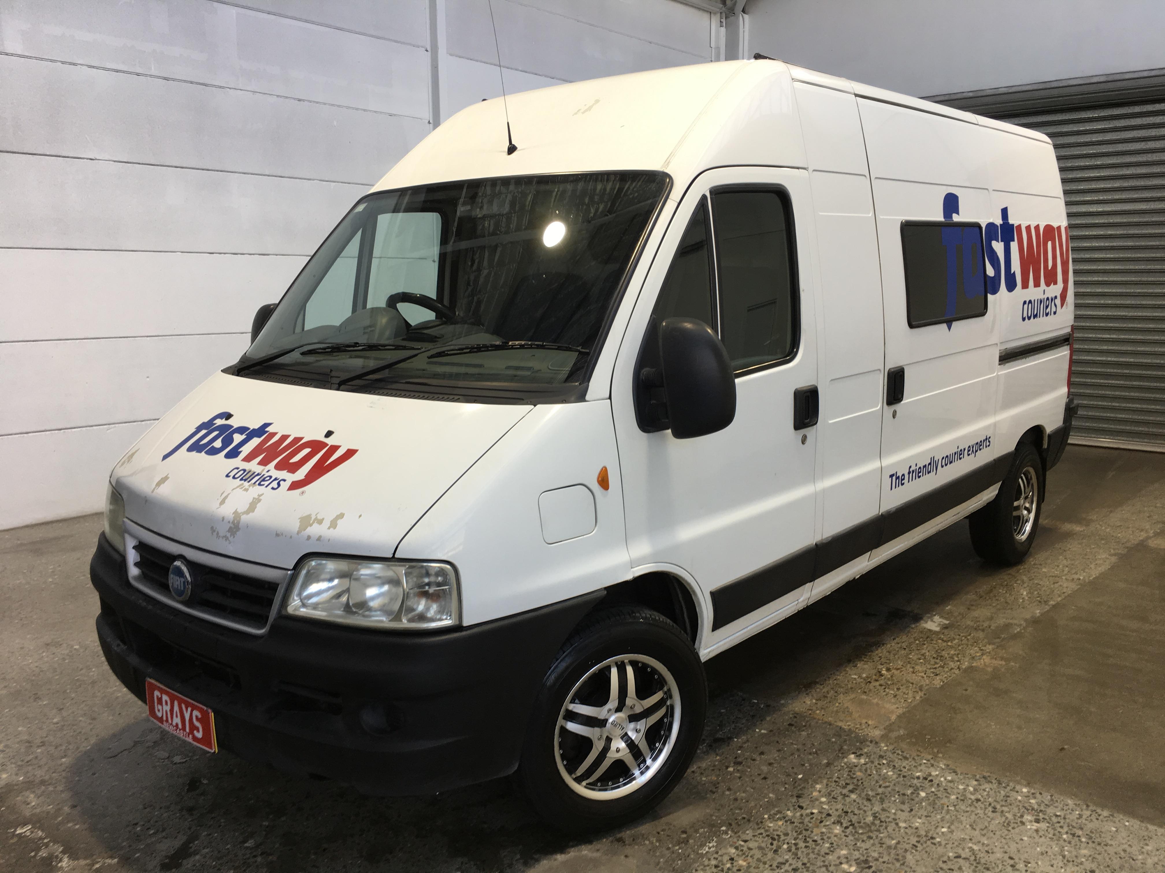 Fiat Ducato MWB Turbo Diesel Automatic Van
