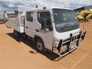 2008 Mitsubishi Fuso 4 x 2 Tray Body Truck