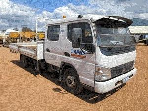 2006 Mitsubishi Fuso 4 x 2 Tray Body Truck