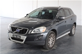 Unreserved 2009 Volvo XC60 D5 2.4 Turbo Diesel Auto Wagon