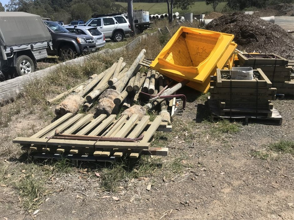 Timber Playground, Climbing equipment