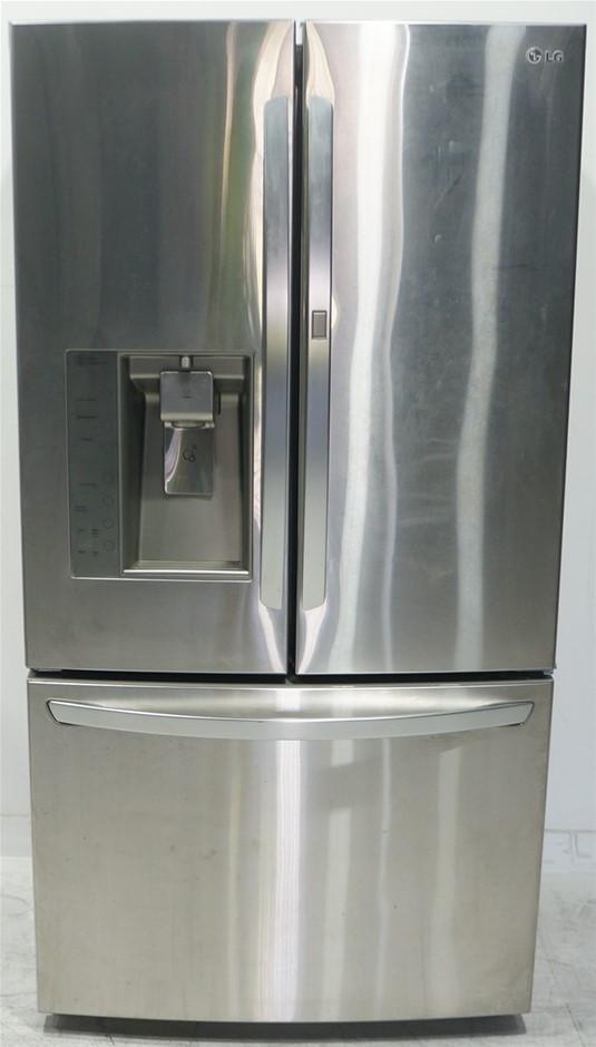 LG GR-D730SL 730L 3 Door French Door Refrigerator With Door-In-Door