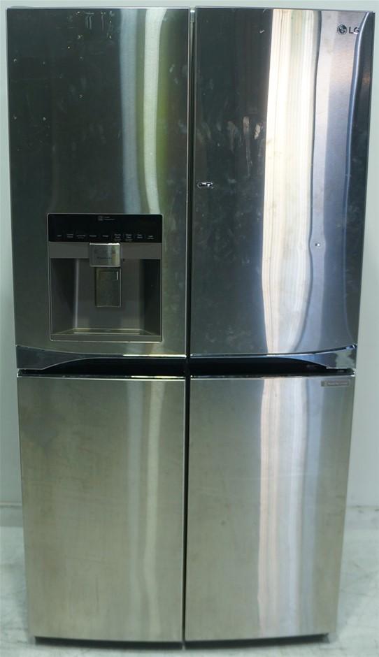 LG 712L Stainless Steel 5 Door French Door Refrigeratorr (GF-5D712SL)