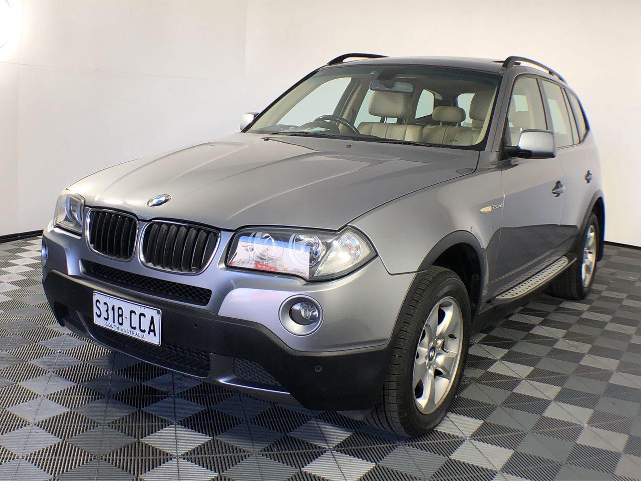 2008 BMW X3 2.0d E83 Turbo Diesel Automatic Wagon