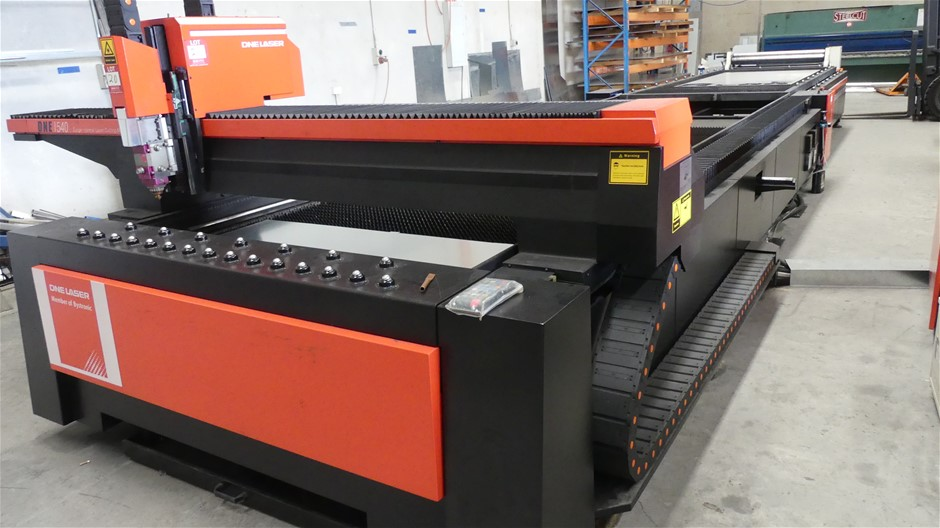 DNE Laser(Member of Bystronic)1540 Large Format Fibre Laser Cutting Machine