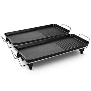 SOGA 2X 48cm Electric BBQ Grill Teppanya