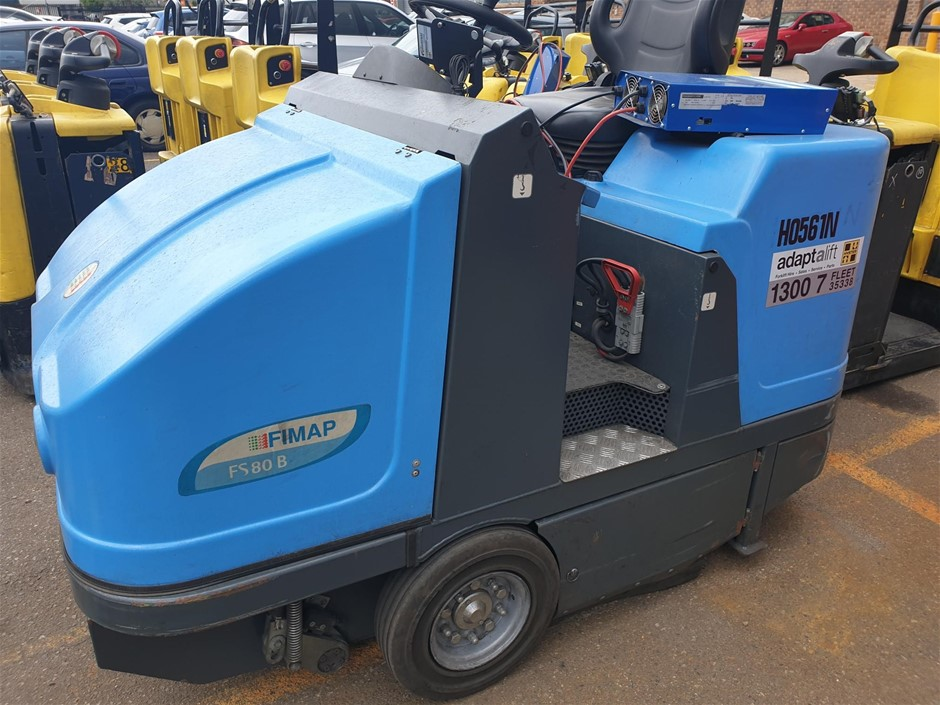 2014 Fimap FS80B Ride On Electric Floor Sweeper