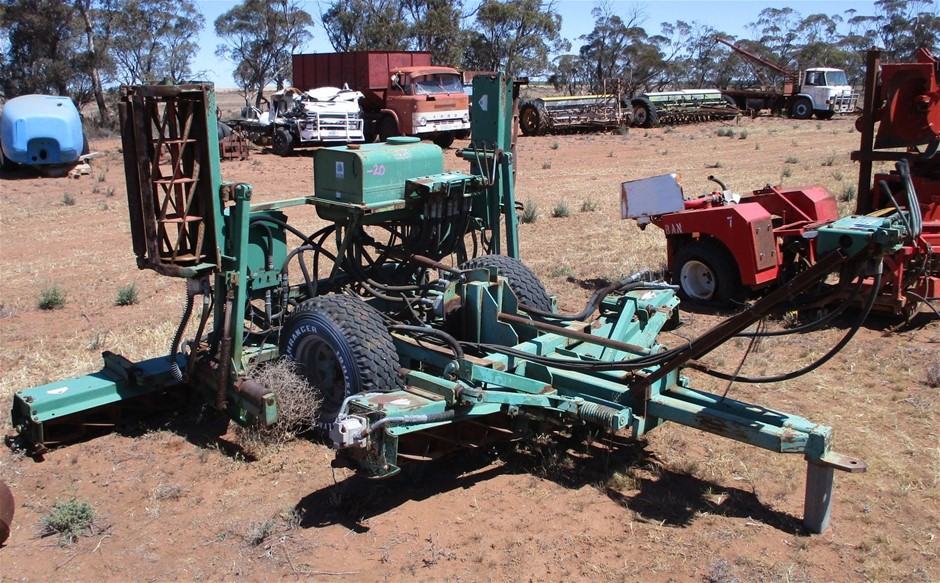 PTO Driven 7 Reel Mower Roller