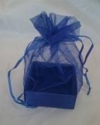 Organza Gift Box Navy