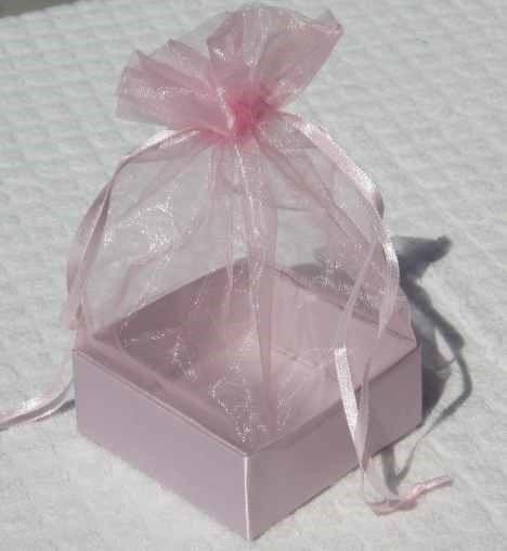 Organza Gift Box Rose