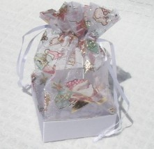 Organza Gift Box Xmas