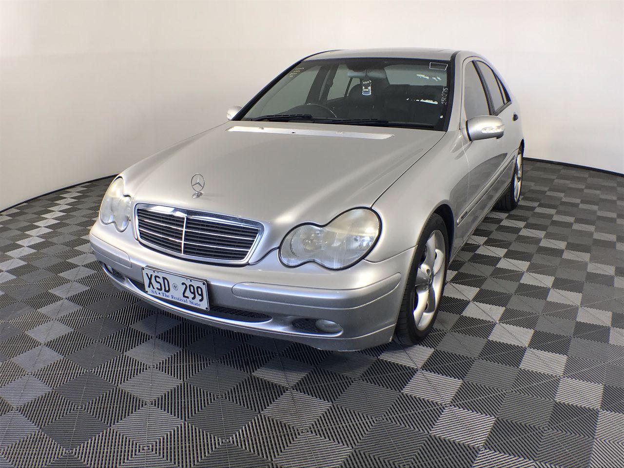 2003 Mercedes Benz C200 Kompressor Classic W203 Automatic Sedan