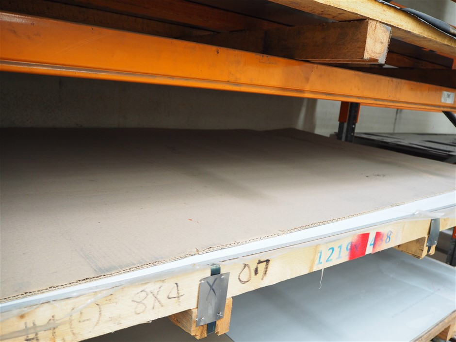 1 x Pallet of Production Stock - Unused Stainless Steel
