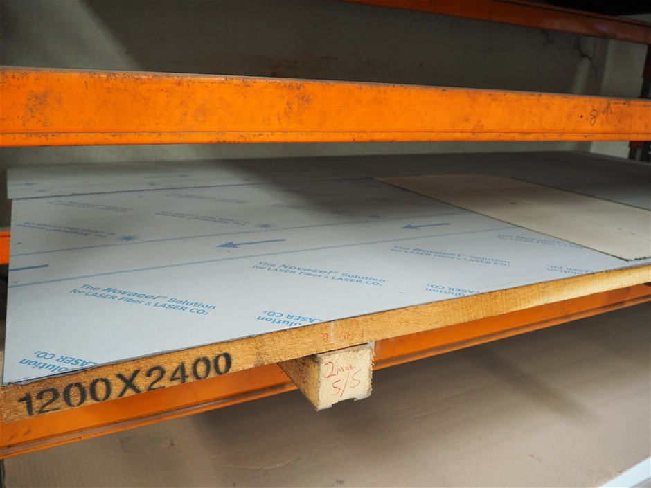 1 x Sheet of Stainless Steel