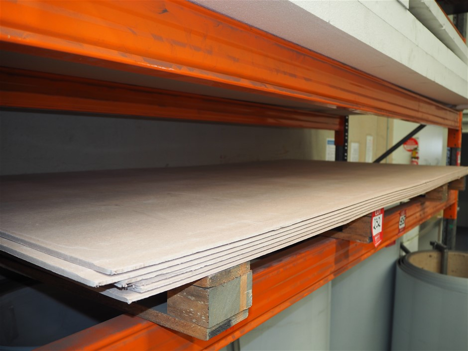 6 x Sheets of Fibre Cement Sheeting - Unused