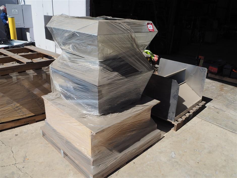 3 x Pallets Used Ventilation Stock