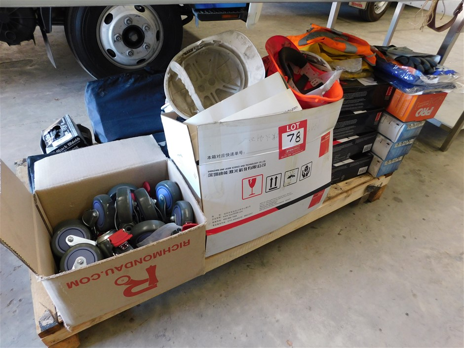 Pallet of Assorted Items including PPE