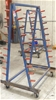 A Frame style Stock Rack on Castor Wheels