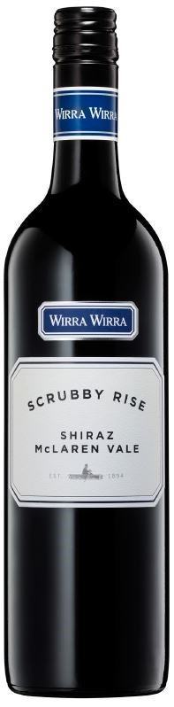 Wirra Wirra `Scrubby Rise` Shiraz 2018 (6 x 750mL), Adelaide, SA.