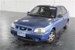 2001 Hyundai Accent GL LS Automatic Hatc