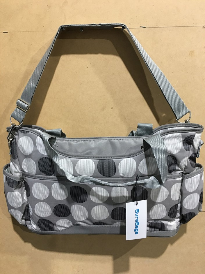 1 x Water Proof Nappy / Diaper Bag - Large Size