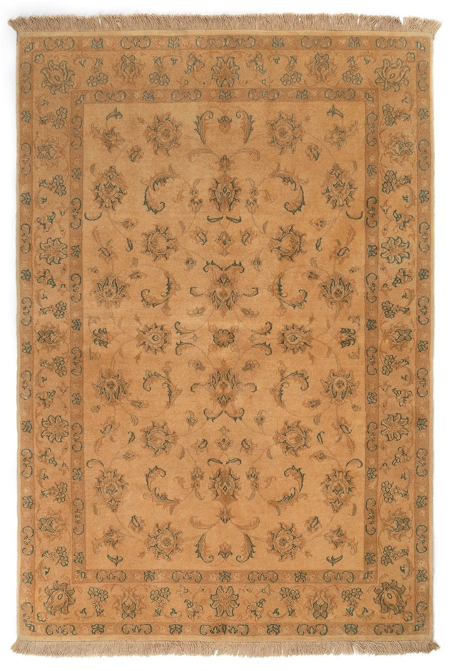Persian Nain Hand Knotted 100% Wool pile Size (cm): 109 x 160
