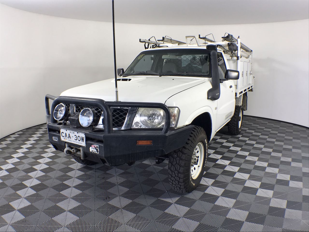 2011 (COMP) Nissan Patrol DX (4x4) GU Turbo Diesel Manual Cab Chassis
