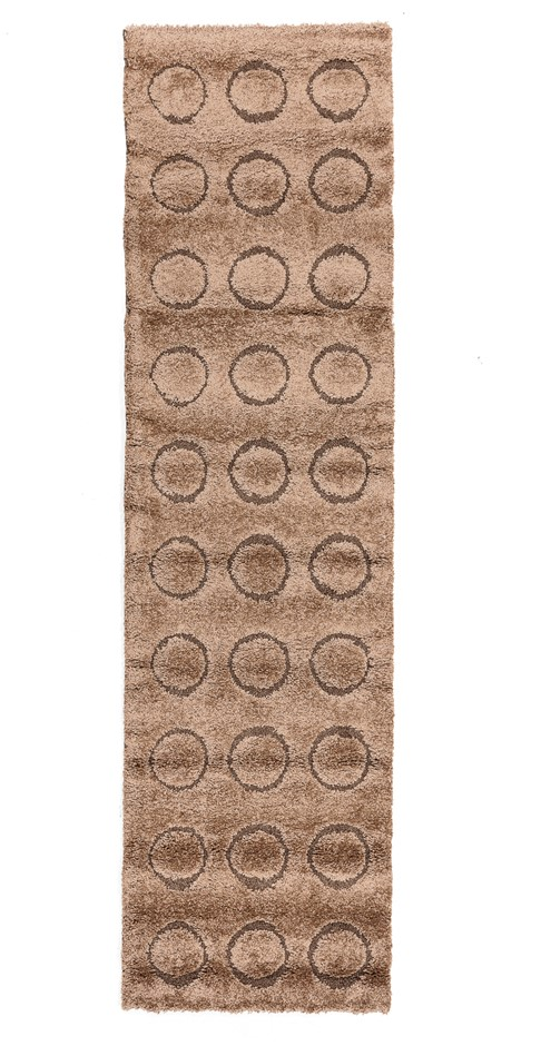 Machine Made Shaggy Rug Size (Cm) 80 x 300