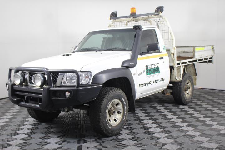 2009 Nissan Patrol DX (4x4) GU Turbo Diesel Cab Chassis
