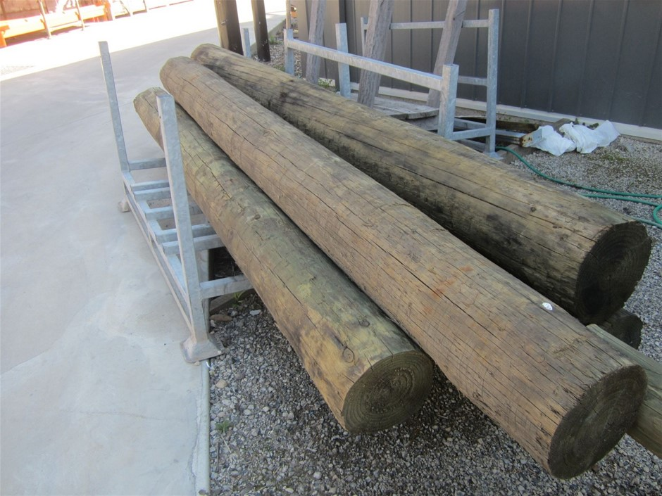 225mm - 250mm Round Treated Pine Poles