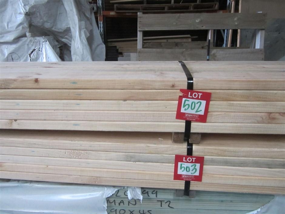Pack of 120mm x 35mm MGP 10 Pine